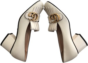 Gucci cream Pumps