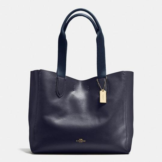 Coach Tote in Midnight/Lapis