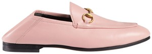 Gucci Brixton Mule Loafer Princetown Horseblt Light pink Flats