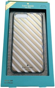Kate Spade NWT stripe case for iPhone 7 plus