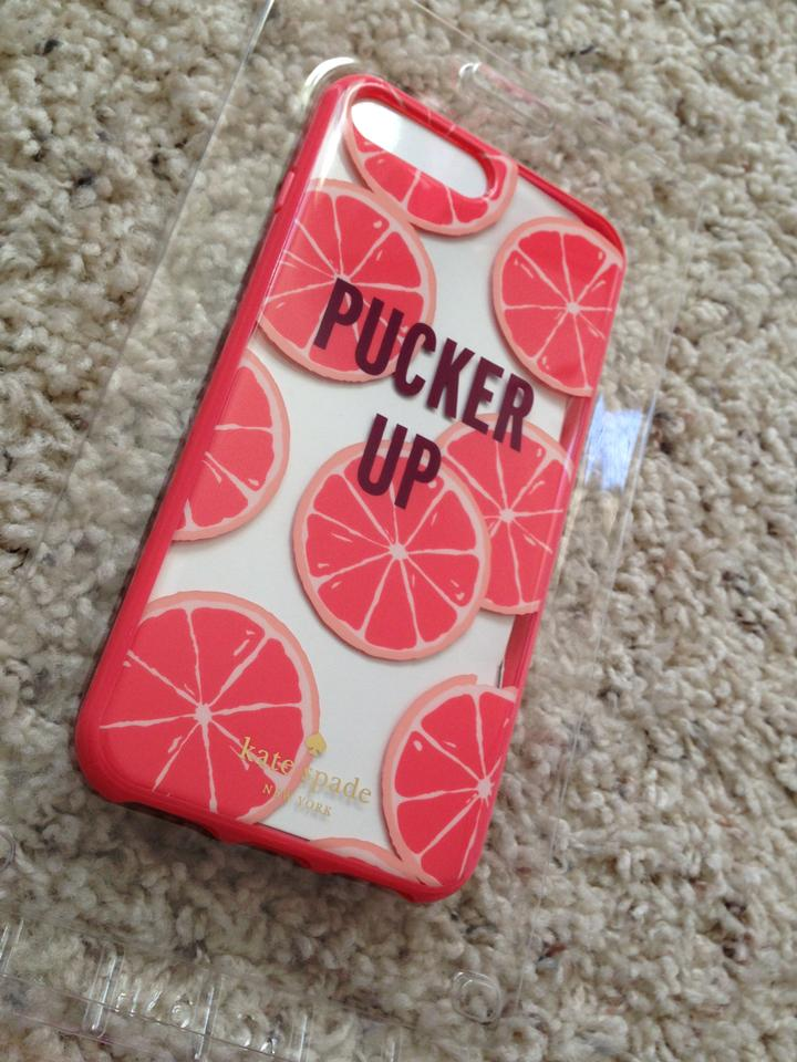 the latest 37a8b c7c29 Kate Spade Multicolor Pucker Up Case For Iphone 7 Plus Tech Accessory 23%  off retail