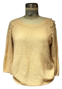 Forever 21 Pearls Slouch 21 Studded Sweater