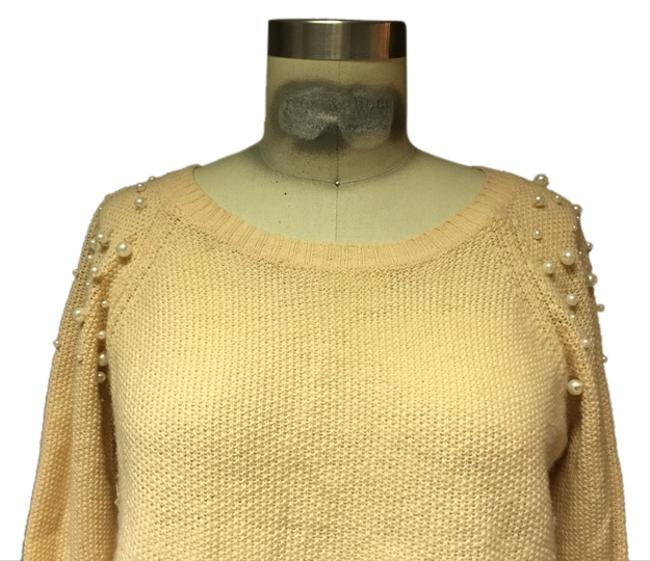 Forever 21 Pearls Slouch Studded Sweater