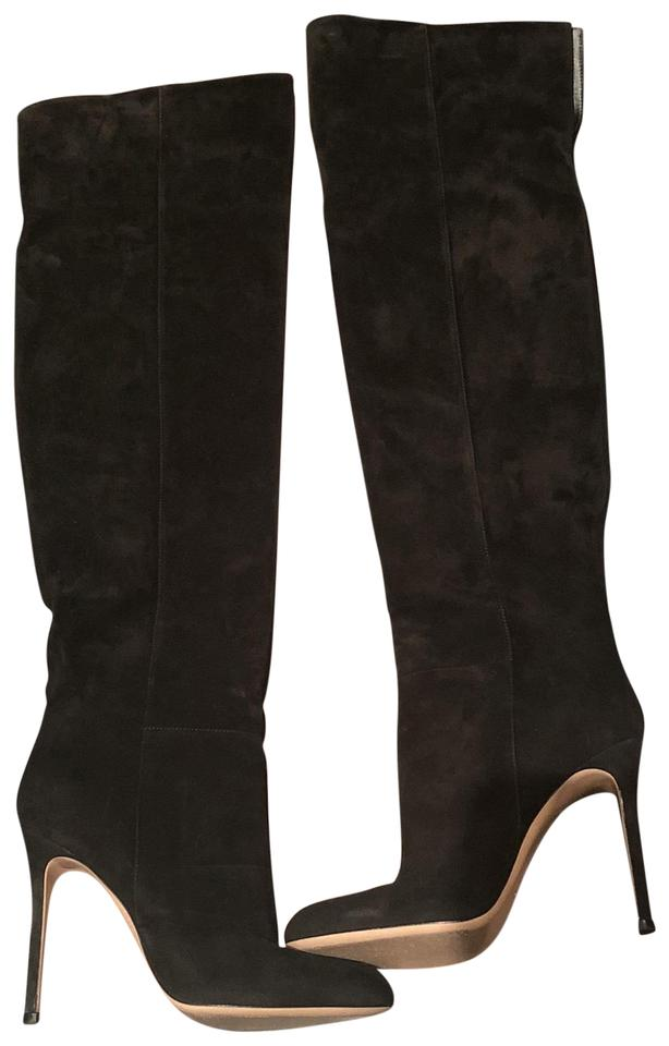 Gianvito Over Rossi Black Over Gianvito The Knee Chic Boots/Booties b1ab59