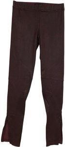 David Lerner David Lerner Size Small Burgundy Legging Size Small