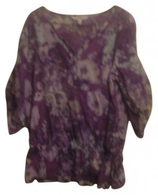Preload https://item5.tradesy.com/images/croft-and-barrow-purple-floral-cinch-waist-blouse-size-16-xl-plus-0x-22544-0-0.jpg?width=400&height=650