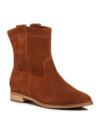 TOMS Suede Brown Boots