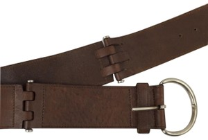 Theory Theory Brown Leather Belt