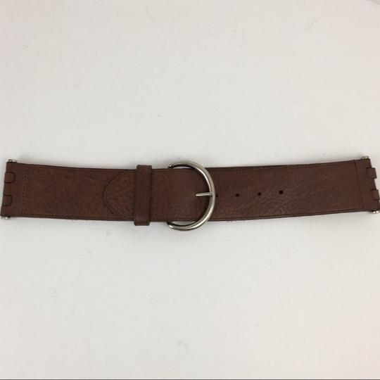 Theory Theory Brown Leather Belt Image 1