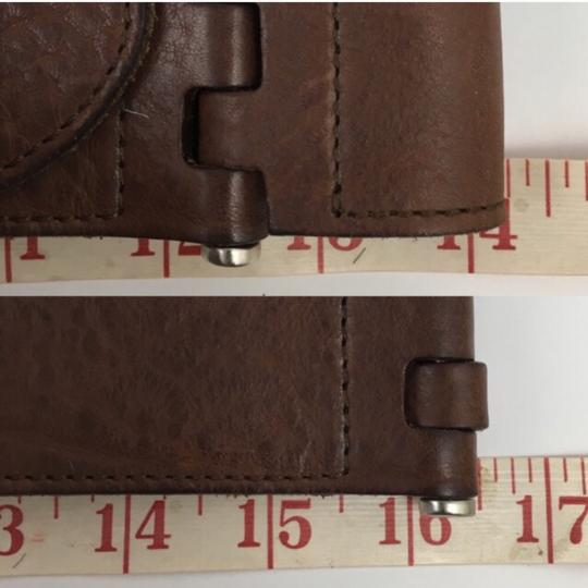Theory Theory Brown Leather Belt Image 3