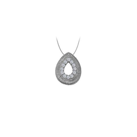 Preload https://img-static.tradesy.com/item/22545499/white-silver-cubic-zirconia-tear-drop-pendant-in-sterling-010-ct-tgwperfect-necklace-0-0-540-540.jpg