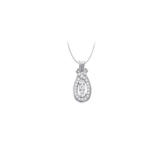 Preload https://img-static.tradesy.com/item/22545634/white-silver-knot-pendant-in-sterling-with-april-birthstone-cubic-zirconia-0-necklace-0-0-540-540.jpg