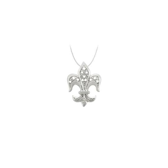 Preload https://img-static.tradesy.com/item/22545649/white-silver-cubic-zirconia-fleur-de-lis-symbol-shaped-pendant-in-sterling-necklace-0-0-540-540.jpg