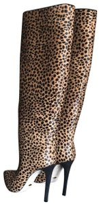 Sergio Rossi Multi/ Pony Hair Boots