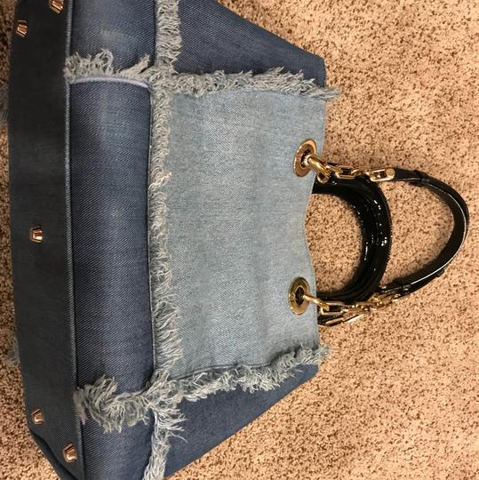 Dior Tote in blue Image 3