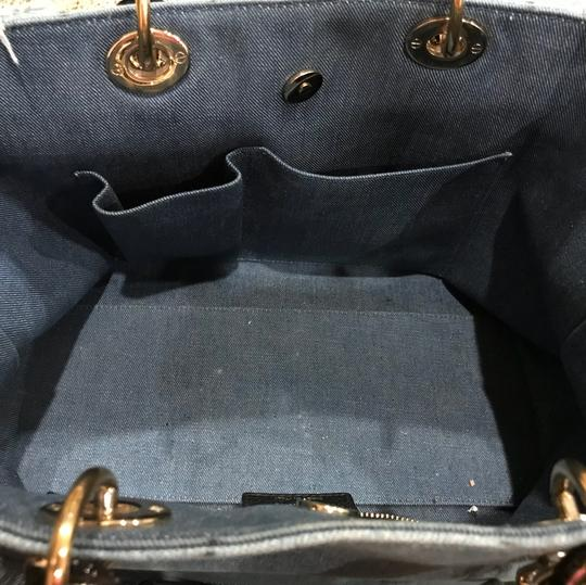 Dior Tote in blue Image 6