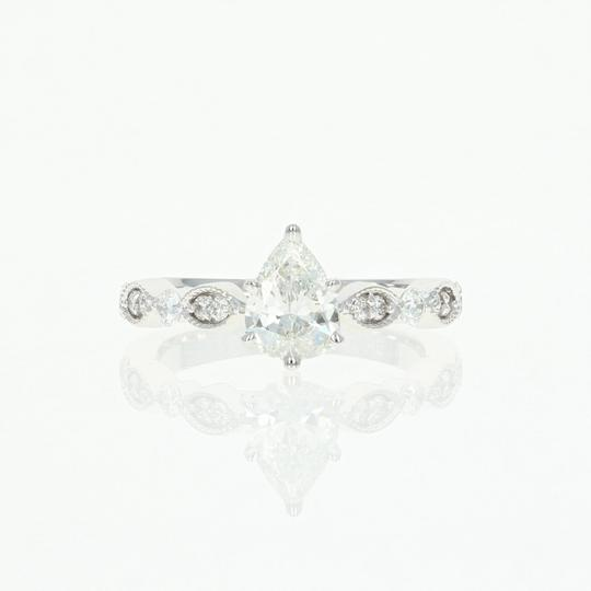 Preload https://img-static.tradesy.com/item/22546116/new-diamond-14k-white-gold-milgrain-gia-pear-102ctw-engagement-ring-0-0-540-540.jpg