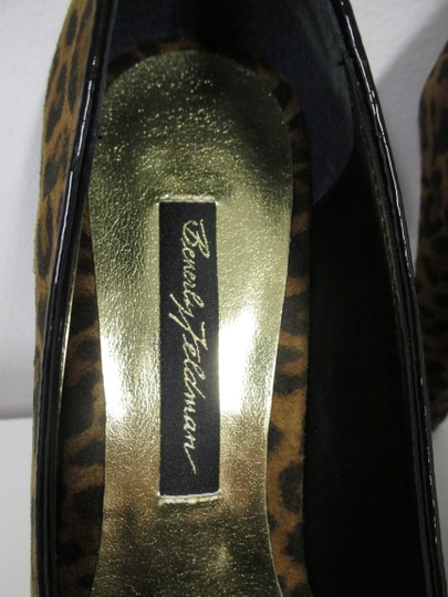 Beverly Feldman Animal Print New In Box Black and brown Pumps Image 9