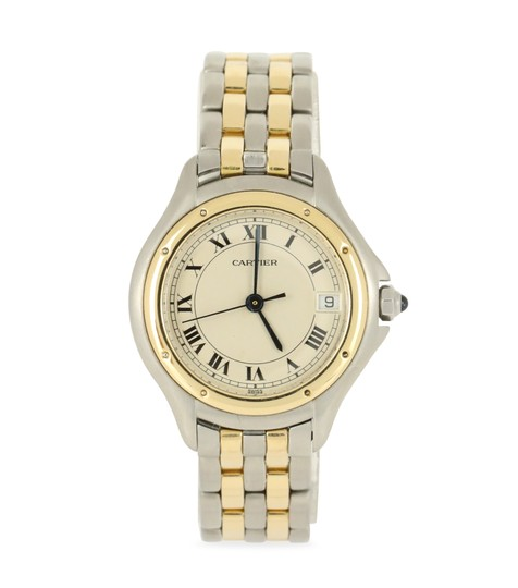 Preload https://img-static.tradesy.com/item/22546354/cartier-multicolor-two-tone-panthere-cougar-watch-0-1-540-540.jpg
