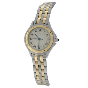 Cartier Ladies Cartier Panthere Cougar 119000R Quartz 26MM Steel 18K Gold