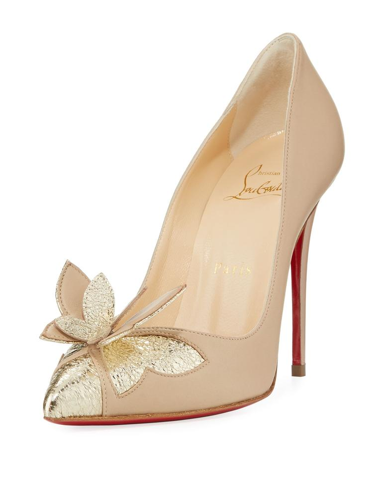 LADY Pumps Christian Louboutin Natural Maripopump Pumps LADY Easy 0487f9