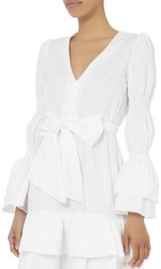 INTERMIX short dress White Longsleeve on Tradesy