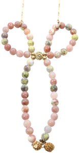 Lenora Dame Multicolor Beaded Bow Necklace