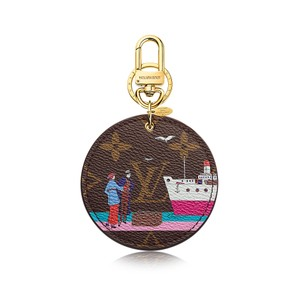 Louis Vuitton New, limited edition, sold out LV Cruise Bag Charm Key Holder Monogram