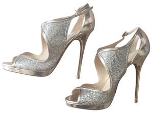 Jimmy Choo Gold and Silver Formal