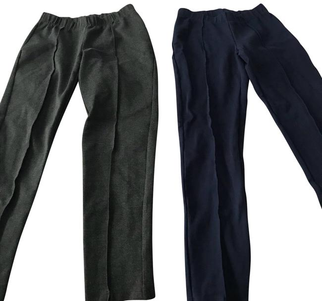 Item - Navy and Gray Travel Pant Leggings Size 6 (S, 28)