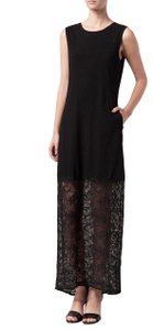 Black Maxi Dress by Raquel Allegra Lace Maxi Mojave Maxi