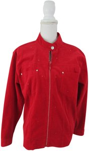 Quacker Factory red Jacket