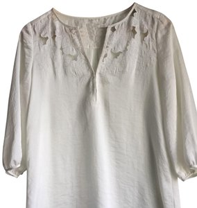 Cooper & Ella Top White