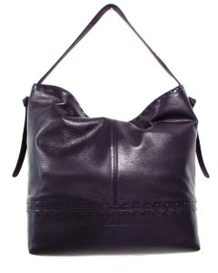 Cole Haan Leather Square Casual Classic Hobo Bag