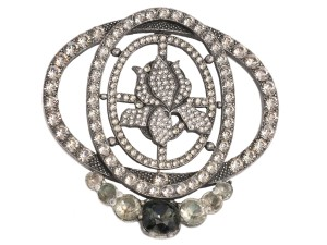 Lanvin Medium Crystal Pin