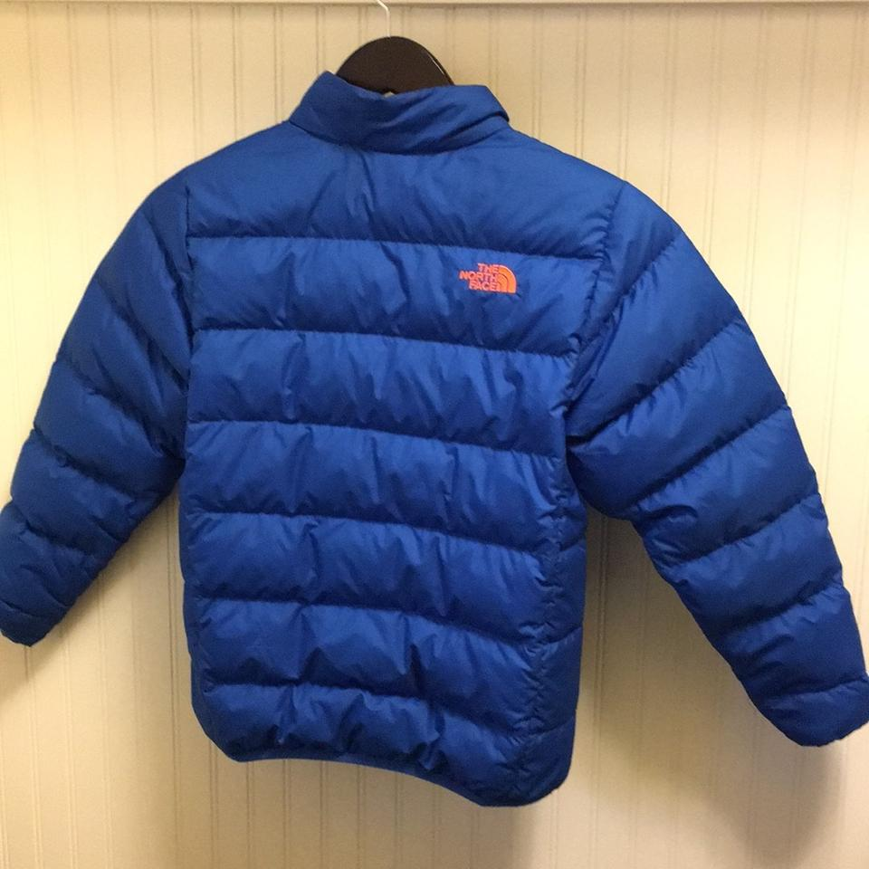 22fcb224eb The North Face Blue Boys Down Jacket Coat Size 10 (M) - Tradesy
