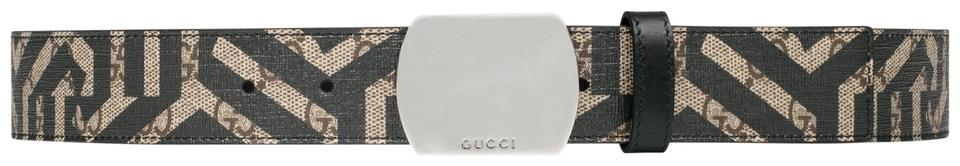3b45d5eef10 Gucci Brand New - Gg caleido Leather Men Belt Size 80 ...