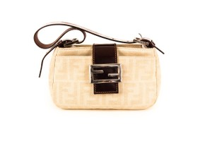 Fendi Logo Monster Mini Baguette