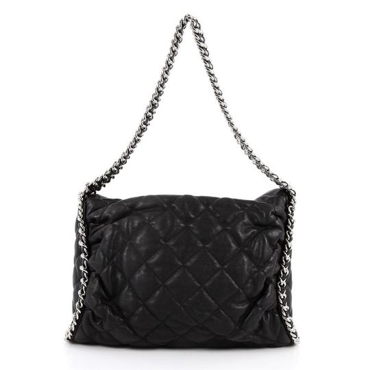 1a6e76794805 Lambskin Hobo Bag. Dior Quilted Black Lambskin Leather Hobo Bag - Tradesy