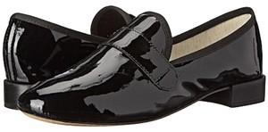 Repetto Loafer Heel French Black Patent Flats