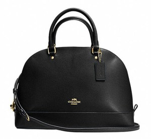 Coach New With Tags Satchel in Black