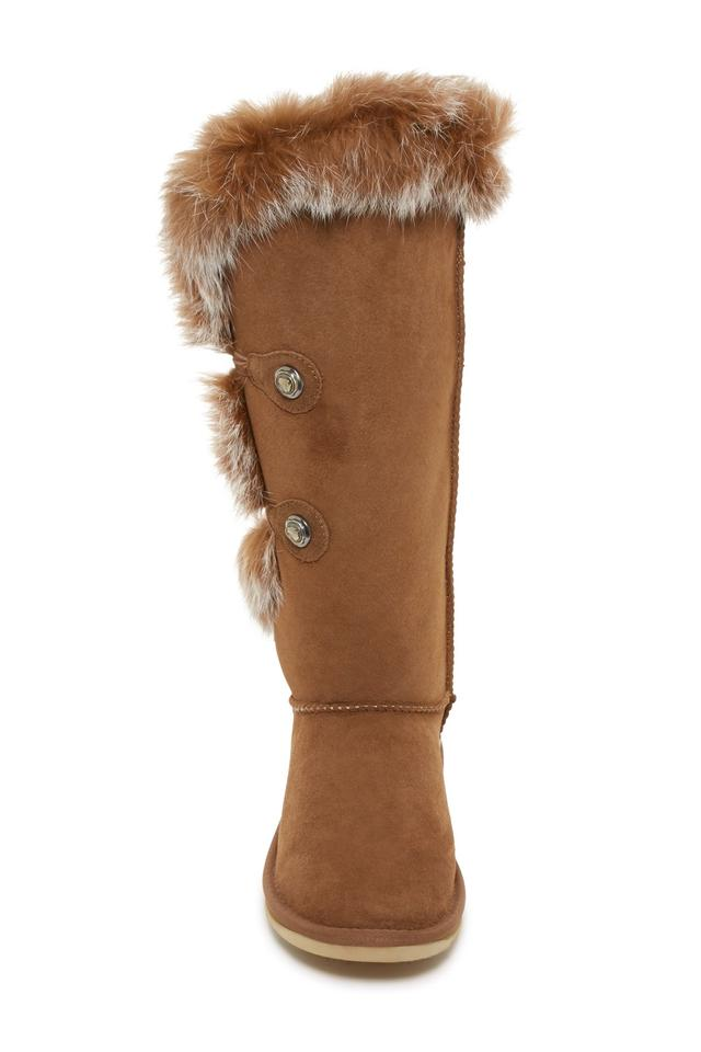db06e2c9f09 Australia Luxe Collective Chestnut Brown Nordic Angel X Tall Rabbit Fur  Shearling Boots/Booties Size US 8 Regular (M, B) 42% off retail