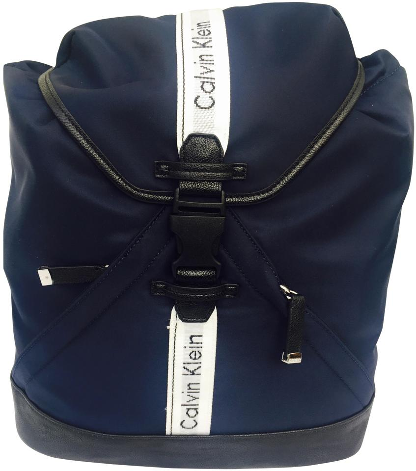 0b76c5b2f69 Calvin Klein Athleisure Nylon Navy Backpack - Tradesy