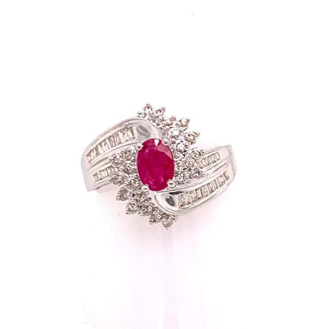 Unbranded Diamond Ruby 14k Gold 1.30 Tcw Women Certified 606490 Ring Unbranded Diamond Ruby 14k Gold 1.30 Tcw Women Certified 606490 Ring Image 1