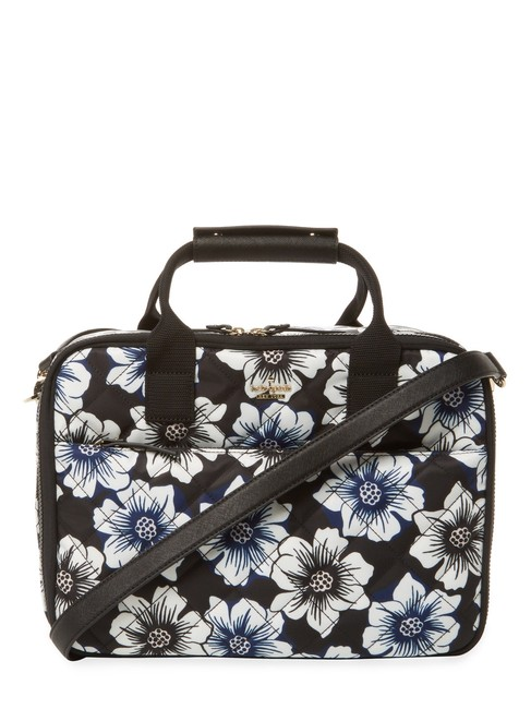 Item - Ridge Street Scottie Floral Multi Quilted Poly/Leather Weekend/Travel Bag