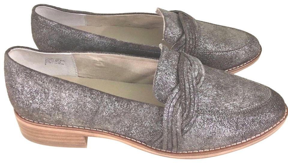 c013be00741f Anthropologie Silver Lien.do By Seychelles Harriet Braided Loafers Mules  Slides. Size  US 9 Regular (M ...
