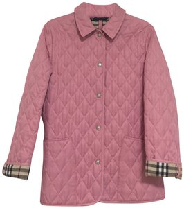 Burberry Quilted Pink Jacket