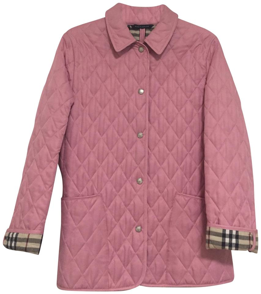 6d6ab3fecfab Burberry Pink Quilted Jacket Size 2 (XS) - Tradesy