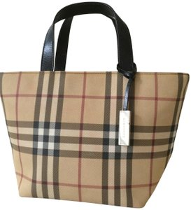 d54fea98c Added to Shopping Bag. Burberry Mini Coated Canvas Leather Trim Satchel in Nova  Check. Burberry Mini Tote ...