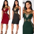 Top Gold & Diamond Jewelry Green Sequin Elegant Bandage Mid-length Night Out Dress Size Petite 12 (L) Top Gold & Diamond Jewelry Green Sequin Elegant Bandage Mid-length Night Out Dress Size Petite 12 (L) Image 6
